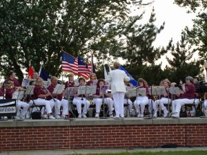 Open to High School Graduates, Chi Band plays songs at nursing homes, parades, community events.