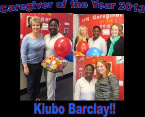 Ck 2013 Klubo caregiver year